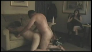 Sissy Husband Fucked While Wife Watches