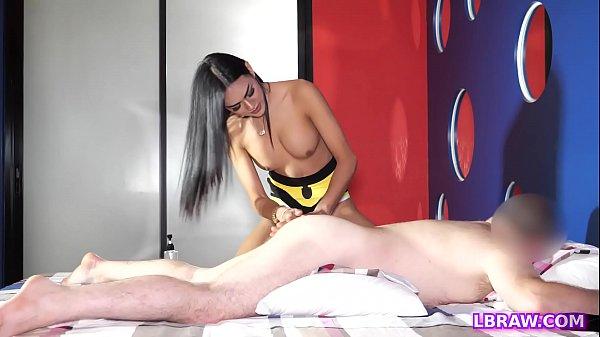 Ladyboy Masseuse Paula Seduces A Customer