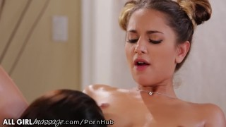 Reluctant Teen Seduced by Lesbian Masseuse Angela White